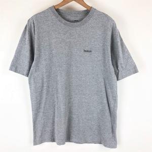 【古着】 Reebok リーボック 無地Tシャツ グレー系 メンズS 【中古】 n004838 outfit-vintage