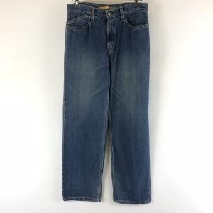 【古着】リーバイス SILVER TAB シルバータブ テーパードデニムパンツ バギー ブルー系 メンズW30 n007618|outfit-vintage