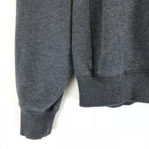 【古着】 FILA フィラ 無地スウェット ワンポイント刺繍 グレー系 メンズL 【中古】 n010469 outfit-vintage 05