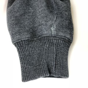 【古着】 FILA フィラ 無地スウェット ワンポイント刺繍 グレー系 メンズL 【中古】 n010469 outfit-vintage 07