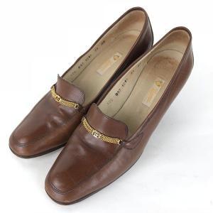 【古着】 GUCCI グッチ ハイヒール ブラウン系 レディース24.5cm 【中古】 n012387 outfit-vintage