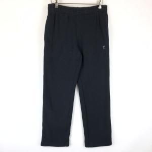 【古着】 FILA フィラ SPORT スウェットパンツ 刺繍 ブラック系 メンズS 【中古】 n014580|outfit-vintage