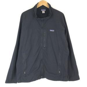 【古着】 Patagonia パタゴニア ナイロンブルゾン スタンドカラー ブラック系 メンズXL 【中古】 n016667|outfit-vintage