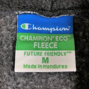 【古着】 Champion チャンピオン ECO FLEECE カレッジプリントパーカー グレー系 メンズM 【中古】 n018232|outfit-vintage|03