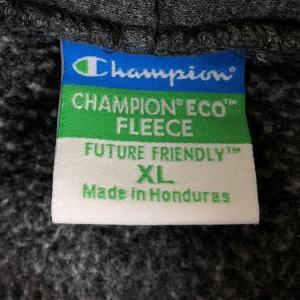 【古着】 Champion チャンピオン ECO FLEECE カレッジプリントパーカー WILDCATS グレー系 メンズXL 【中古】 n018233|outfit-vintage|03