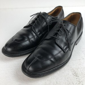 Allen Edomons アレンエドモンズ レザーシューズ Uチップ made in USA ブラック系 メンズ27.5cm n018282|outfit-vintage