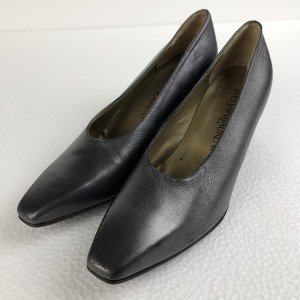 Yves Saint Laurent? イヴサンローラン ハイヒール made in ITALY シルバー系 レディース22.5cm n018304 outfit-vintage