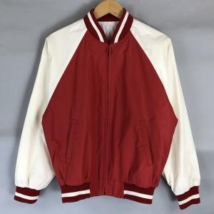 【古着】 リベルティー ナイロンスタジャン レッド系 メンズM 【中古】 n018699|outfit-vintage