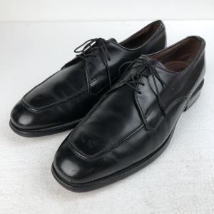 Allen Edomons アレンエドモンズ レザーシューズ Uチップ made in USA ブラック系 メンズ27.5cm n018758|outfit-vintage