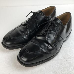JOHNSTON&MURPHY ジョンストン&マーフィー レザーシューズ Uチップ ブラック系 メンズ26.0cm n018765|outfit-vintage