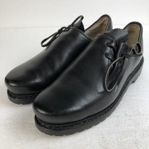マインドル レザーシューズ チロリアンシューズ サイドストラップ 山岳靴 ブラック系 メンズ28.5cm以上|outfit-vintage