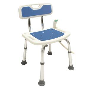 シャワーチェア 浴室チェア バスチェア 転倒防止 介護用 風呂椅子 入浴用 お風呂 椅子 アルミ製 背もたれ付き 送料無料|outlet-f