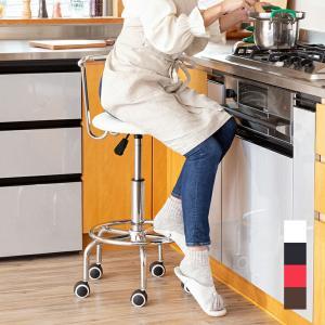 キッチンチェア ガス圧 昇降式 回転チェア キャスター付き キッチン チェアー カウンターチェアー 椅子 送料無料|outlet-f