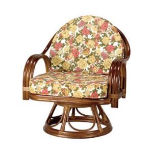 ラタンチェア 籐椅子 回転チェア 天然籐 ラタン 回転 チェア 椅子 ミドルハイタイプ 完成品|outlet-f