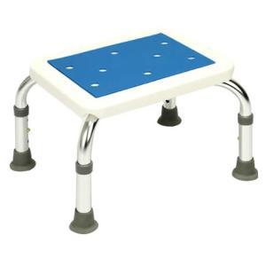 アルミ製 バスチェア シャワーステップ 転倒防止 入浴用 踏み台 浴槽台 お風呂 椅子 介護用 風呂椅子 シャワーチェア 送料無料|outlet-f