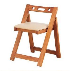 天然木折りたたみチェア 完成品 木製 コンパクト チェア 折りたたみ 椅子 いす イス チェア 送料無料|outlet-f