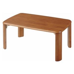 匠木工 天然木収納式折れ脚テーブル 75cm幅 outlet-f
