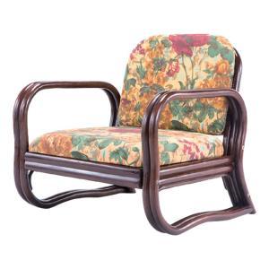 天然籐思いやり座椅子 ロータイプ 送料無料 outlet-f