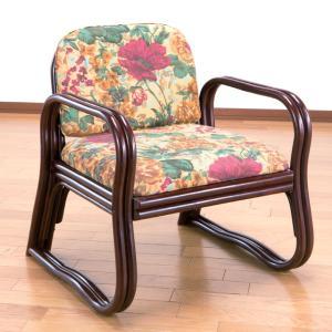 天然籐思いやり座椅子 ミドルタイプ 送料無料 outlet-f