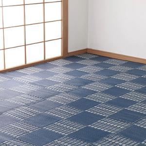 カーペット 6畳 本間 286cm×382cm 洗える 日本アトピー協会推薦品 リビングマット ラグ マット ウィード 日本製|outlet-f