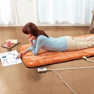 ホットカーペット 電気カーペット 電気マット ホットマット ごろ寝 マット 電気毛布 電気敷き毛布 一人用 ソファークッション ソファーマット 送料無料|outlet-f