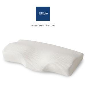 スリープル メディキュアピロー レギュラーサイズ 横向き 頚椎 ストレートネック サポート いびき 枕 まくら