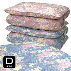 日本製 防ダニ 防臭 抗菌加工 ダブルボリューム 敷布団 ダブル|outlet-f