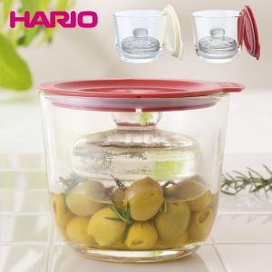 HARIO ハリオ ガラスの一夜漬け器 耐熱ガラス 電子レンジOK レシピ付き|outlet-f