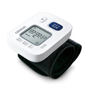 血圧計 OMRON オムロン 手首式血圧計 血圧測定 インテリセンス搭載 体調管理 ワンボタン操作 HEM-6163|outlet-f