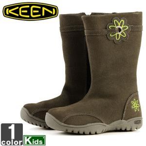キーン/KEEN キッズ ジュニア ルナ ブーツ 1009432 1807 ロングブーツ サイドジップ|outlet-grasshopper