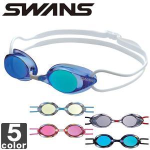 スワンズ/SWANS 競泳用 ミラースイミングゴーグル SR1MEV ユニセックス|outlet-grasshopper