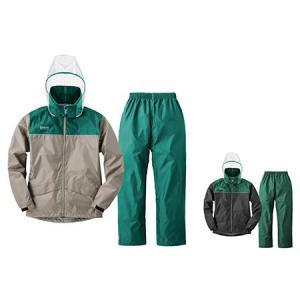 LOGOS(ロゴス) クリアフードレインスーツ ライム サンド L 28735602 1609 男性 紳士|outlet-grasshopper