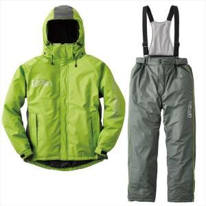 《送料無料》LOGOS(ロゴス) 油に強い防水防寒スーツ サーレ グリーン LL 30615361 1609 メンズ 紳士|outlet-grasshopper
