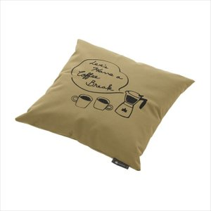 LOGOS (ロゴス) LOGOS Tシャツコラボ クッションカバー プラス COFFEE(杢グレー) 36934719 1908 アクセサリー|outlet-grasshopper