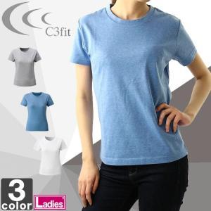 【在庫処分セール】シースリーフィット/C3fit レディース グラフィック ティー 3FW45308 1804 Tシャツ 半袖|outlet-grasshopper