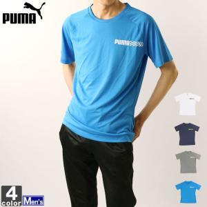 ★プーマの半袖Tシャツ!  ●ラグランスリーブのワンポイントデザインが胸に入った半袖Tシャツ。 ●伸...