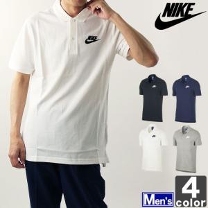 ★ナイキのポロシャツ!  ●ワンポイントロゴがシンプルで使い易い、ナイキの半袖ポロシャツ! ●2つボ...