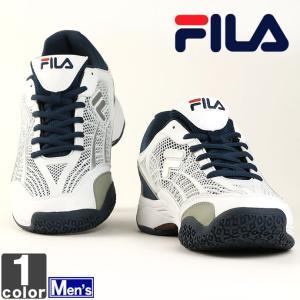 フィラ/FILA メンズ テニスシューズ アルマ 9YSHT001 1804 オムニ クレー|outlet-grasshopper