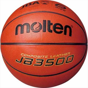 molten (モルテン) バスケットボール6号球 検定球 JB3500 B6C3500 1710|outlet-grasshopper