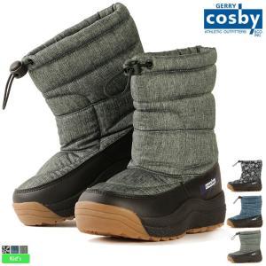 コスビー/cosby キッズ ジュニア 耐水圧5000mm スパイク付 スノーブーツ CSSNB-43 1810 ブーツ 防水|outlet-grasshopper