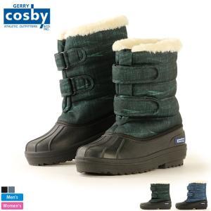 コスビー/cosby メンズ レディース 耐水圧5000mm スパイク付 スノーブーツ CSSNB-73 1810 ブーツ 防水|outlet-grasshopper