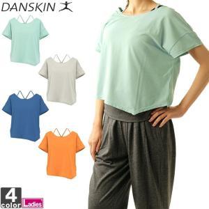 ダンスキン/DANSKIN レディース フレンチトップ DB55206X 1808 トップス フレンチスリーブ|outlet-grasshopper