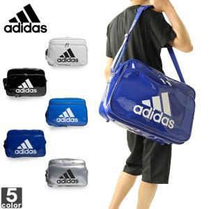 アディダス/adidas  エナメル バッグ L ETX13 1809 エナメル ショルダーバッグ|outlet-grasshopper
