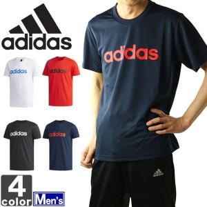 大決算セール開催中!アディダス/adidas 2018年春夏 メンズ エッセンシャルズ リニアロゴ Tシャツ ETZ87 1803 紳士 男性