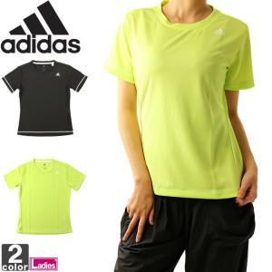 アディダス/adidas レディース D2M トレーニング 定番 ロゴ ワンポイント 半袖 Tシャツ EUD14 1808 シャツ トップス|outlet-grasshopper
