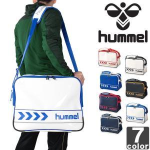 ヒュンメル/hummel エナメル ショルダー バッグ HFB3068 1603 メンズ レディース|outlet-grasshopper