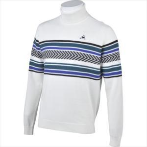 Le coq sportif GOLF (ルコックゴルフ) メンズ ハイネックセーター WHT QG...