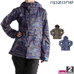 スノーボード ウェア レディース 在庫処分 リップゾーン/ripzone ジャケット RIP-506 1610 ウィメンズ 婦人 スノボ スキー 送料無料|outlet-grasshopper