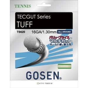 GOSEN(ゴーセン) テックガット タフ 16 TECGUT TUFF 16 TS620W 180...