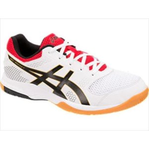 バレーシューズ asics (アシックス) GEL-ROCKET 8 WHITE/BLACK TVR719 1905 バレー|outlet-grasshopper